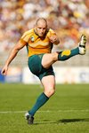Stirling Mortlock Australia v Japan Rubgy World Cup 2007 Prints