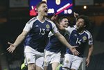 Chris Martin Scotland goal v Slovenia Hampden Park 2017 Prints