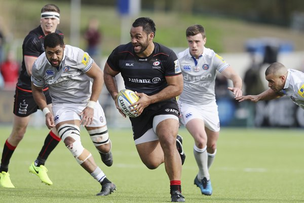 Billy Vunipola Saracens v Bath Premiership 2017