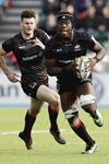 Maro Itoje Saracens v Bath Premiership 2017 Mounts