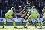 Dylan Hartley Northampton Saints v Leicester Premiership 2017 Prints