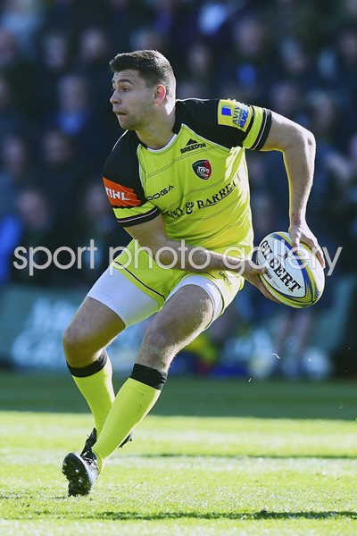 Ben Youngs Leicester Tigers v Northampton Premiership 2017