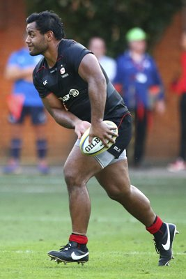 Billy Vunipola Saracens v London Scottish 2016