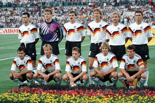 West Germany World Cup Final v Argentina Rome 1990