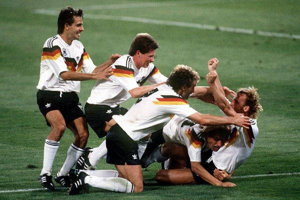 West Germany World Champions Rome 1990