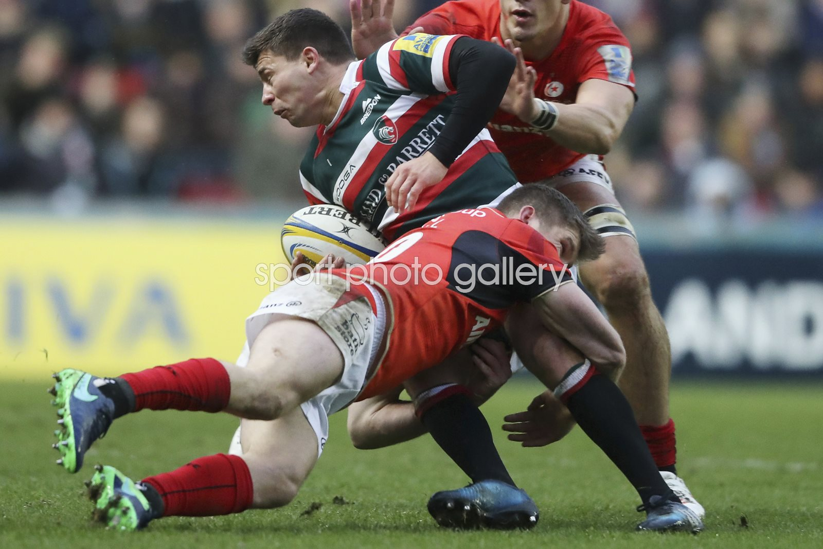 Ben Youngs Leicester Tigers v Owen Farrell Saracens 2017