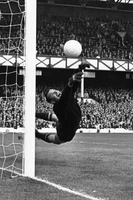 Lev Yashin Russia v West Germany World Cup 1966