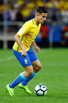 Philippe Coutinho Brazil v Paraguay World Cup 2018 Qualifier