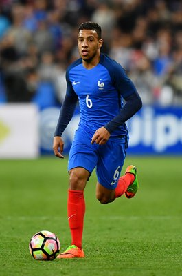 Corentin Tolisso France v Spain Paris 2017