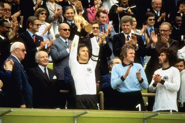Franz Beckenbauer West Germany World Champions 1974