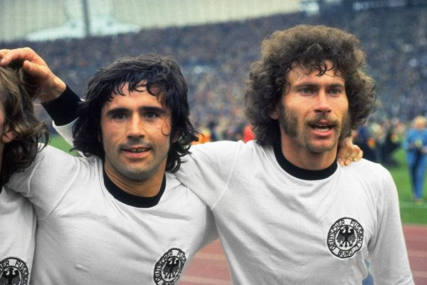Muller and Breitner West Germany 1974