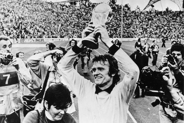 Sepp Maier West Germany 1974 World Cup trophy