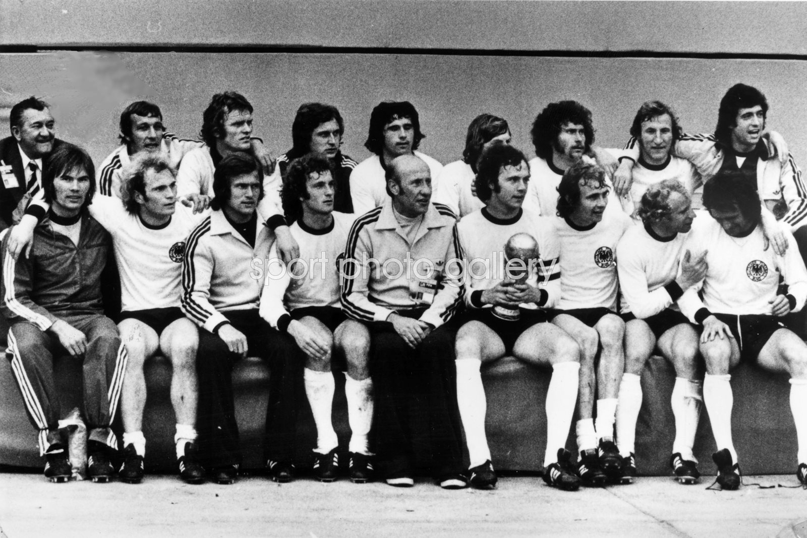 West Germany 1974 World Cup Win