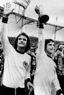 Gerd Muller Germany World Cup 1974 Winners