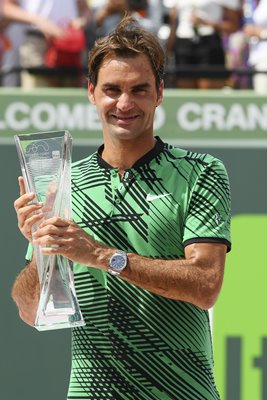 2017 Roger Federer Miami Open Champion