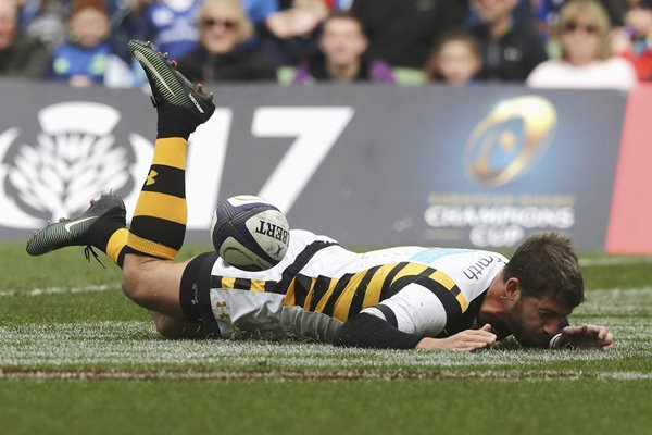Willie le Roux Wasps Missed Try v Leinster Champions Cup 2017