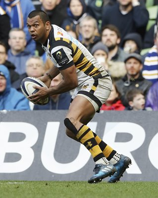 Kurtley Beale Wasps v Leinster European Champions Cup 2017