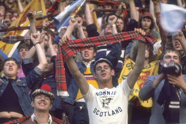 Scotland Fans World Cup 1978