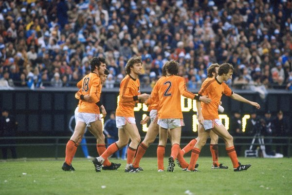 Holland players v Argentina 1978