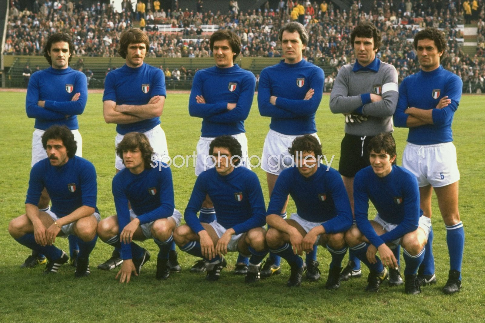 Italy line up 1978