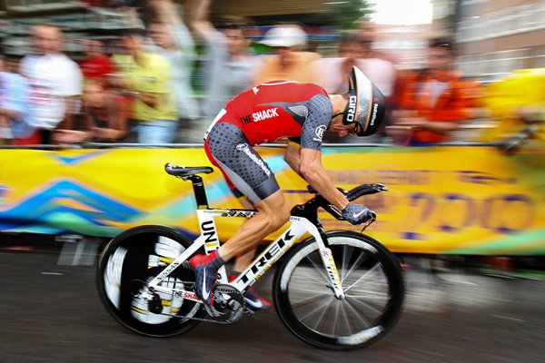 Lance Armstrong 2010 Prologue Speed