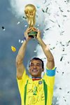 Cafu Brazil World Cup Champions 2002 Frames