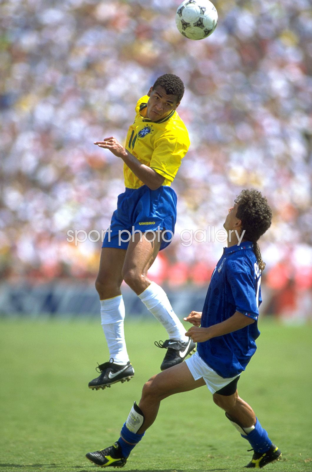 Cafu Brazil v Italy World Cup Final Los Angeles 1994