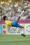Bebeto Brazil Overhead Kick World Cup 1994 Prints