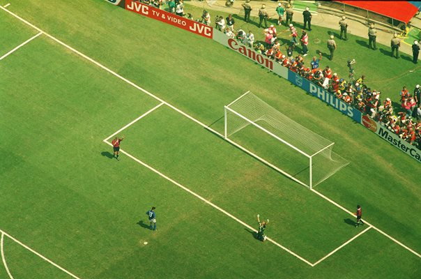 Roberto Baggio Italy Penalty v Brazil World Cup Final 1994