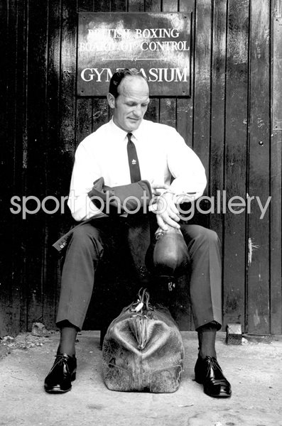 Henry Cooper British Boxing Board of Control London 1970