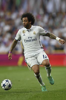 Marcelo Real Madrid v Bayern Champions League 2017