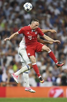 Franck Ribery Bayern v Real Madrid Champions League 2017