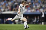 Luka Modric Real Madrid CF v Bayern Champions League 2017 Prints