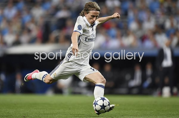 Luka Modric Real Madrid CF v Bayern Champions League 2017