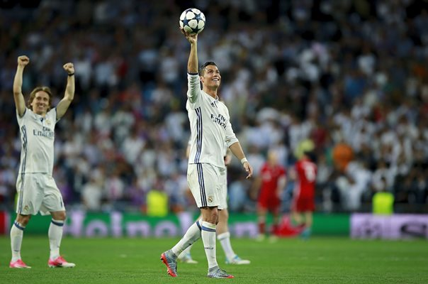Cristiano Ronaldo Real Madrid Hatrick Champions League 2017