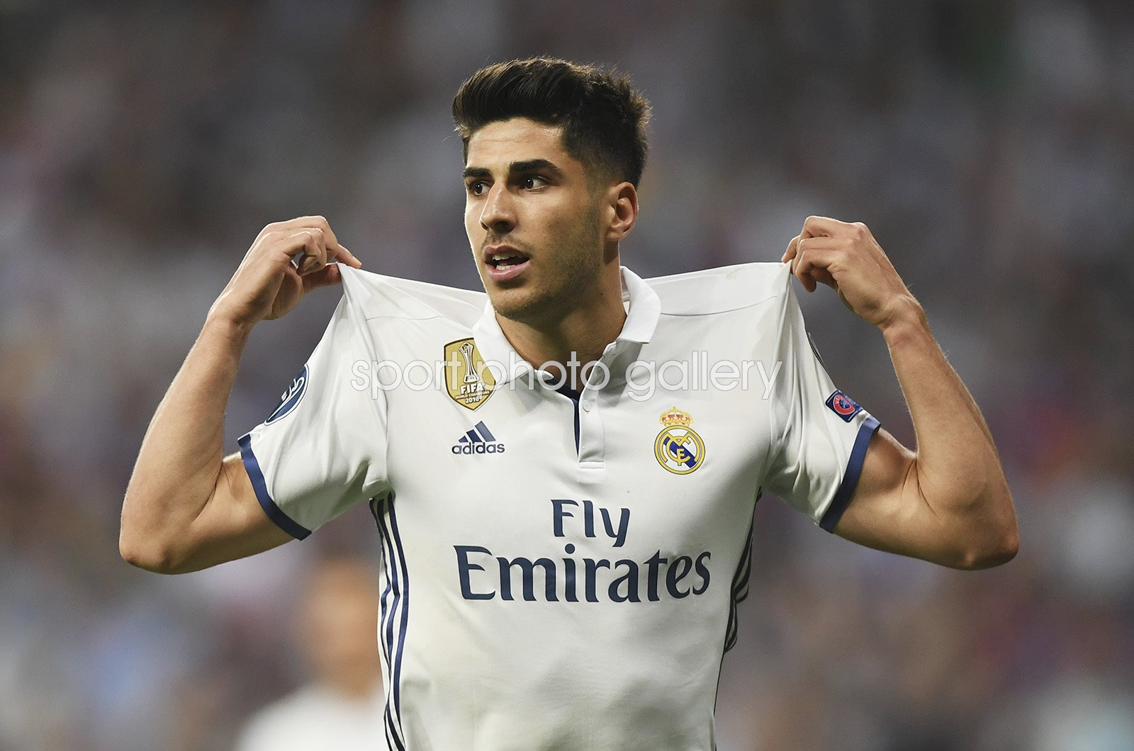 Marco Asensio Real Madrid v Bayern Champions League 2017