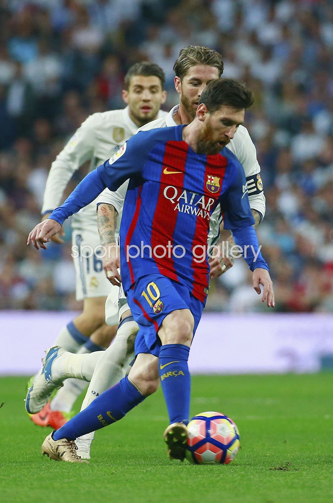 Lionel Messi Barcelona v Real Madrid Bernabeu 2017