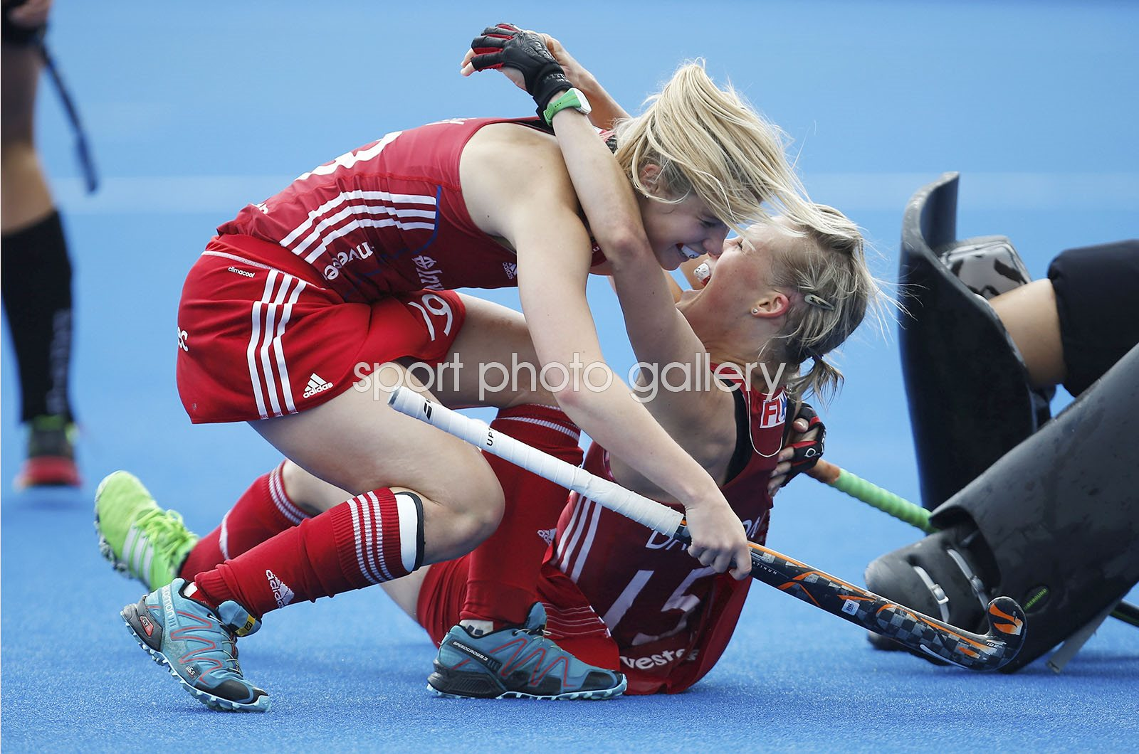 Alex Dawson & Sophie Bray Great Britain Hockey Champions Trophy 2016