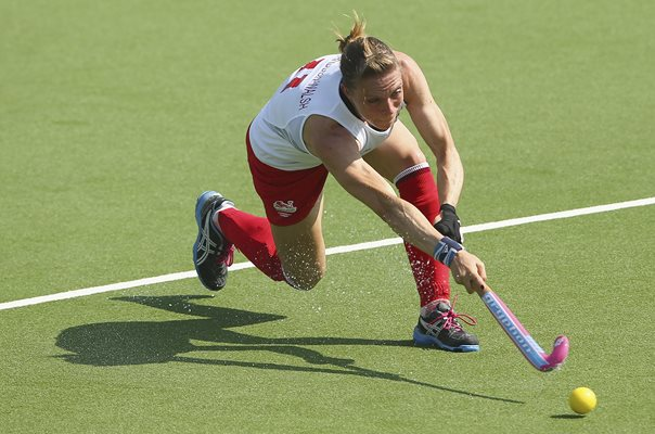 Kate Richardson-Walsh England Commonwealth Games Hockey 2014