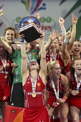 Kate Richardson-Walsh England EuroHockey Champions 2015