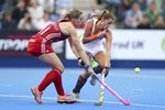 Kate Richardson-Walsh England EuroHockey 2015 Prints
