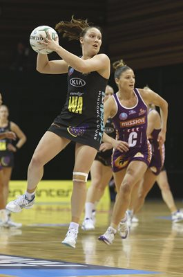 Khao Watts Magic v Firebirds NZ Netball 2013