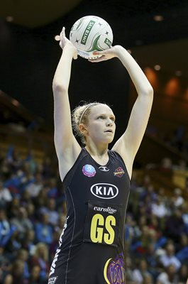 Jo Harton Magic v Firebirds ANZ Netball 2014