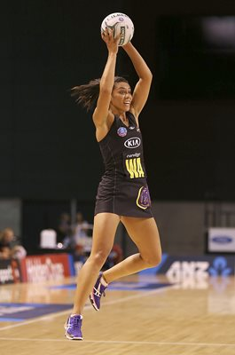 Grace Rasmussen Magic v Tactix New Zealand Netball 2017