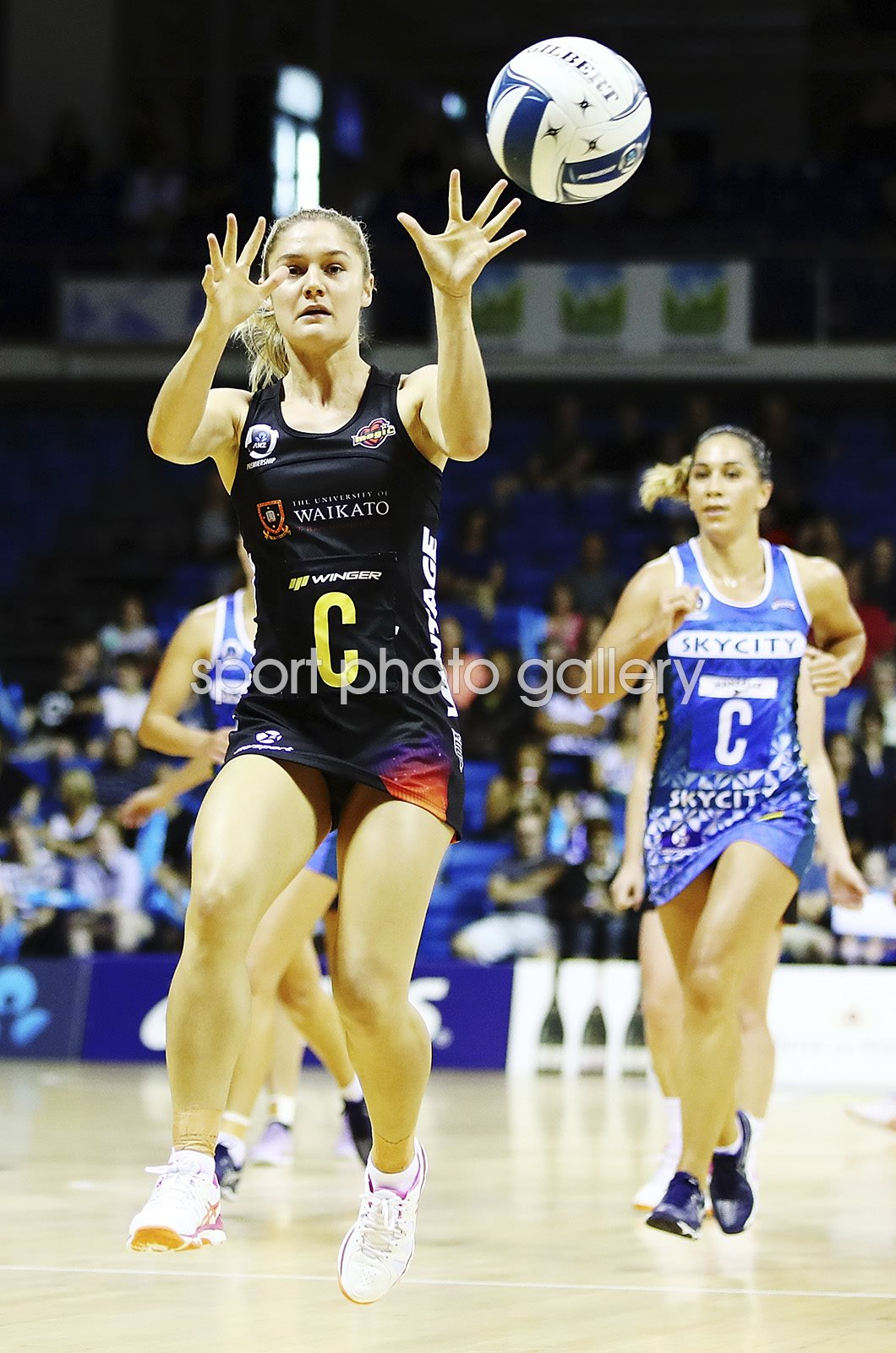 Ariana Cable-Dixon Magic v Mystics New Zealand Netball 2017