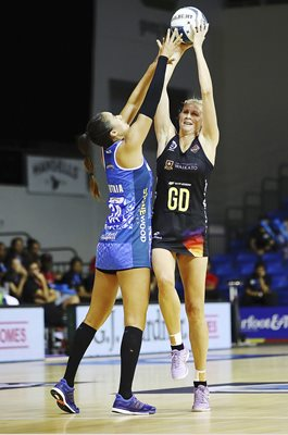 Casey Kopua Magic v Mystics New Zealand Netball 2017