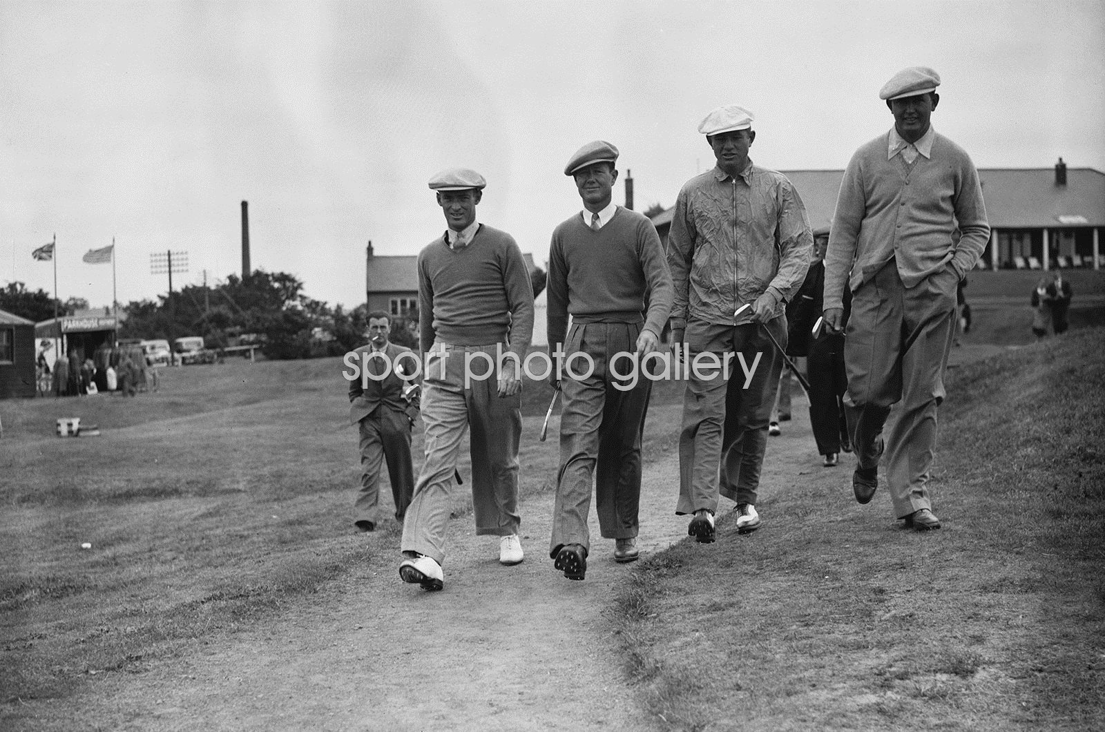 Byron Nelson American Ryder Cup Team 1937