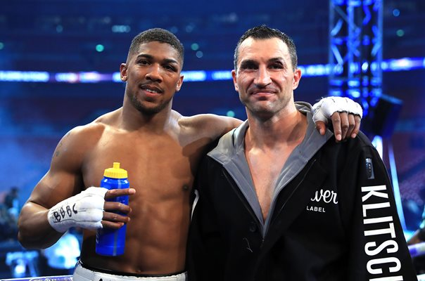 Anthony Joshua & Wladimir Klitschko Wembley Stadium 2017