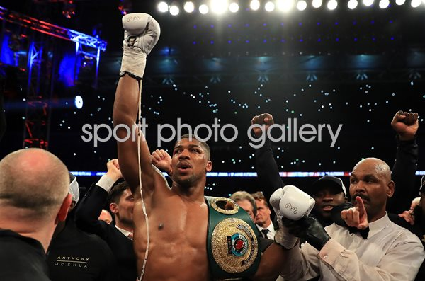 Anthony Joshua beats Wladimir Klitschko Wembley Stadium 2017