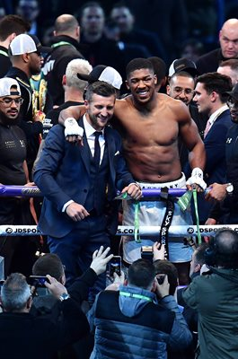 Anthony Joshua & Carl Froch Wembley Stadium 2017